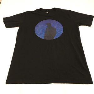Black Shadow - PI star scape T-shirt